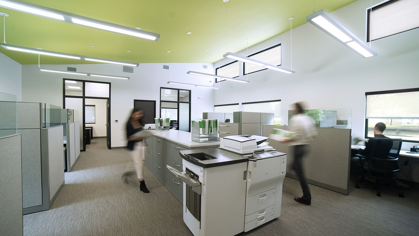 Interiors - Designing spaces that positively affect the way people live, work, and play.