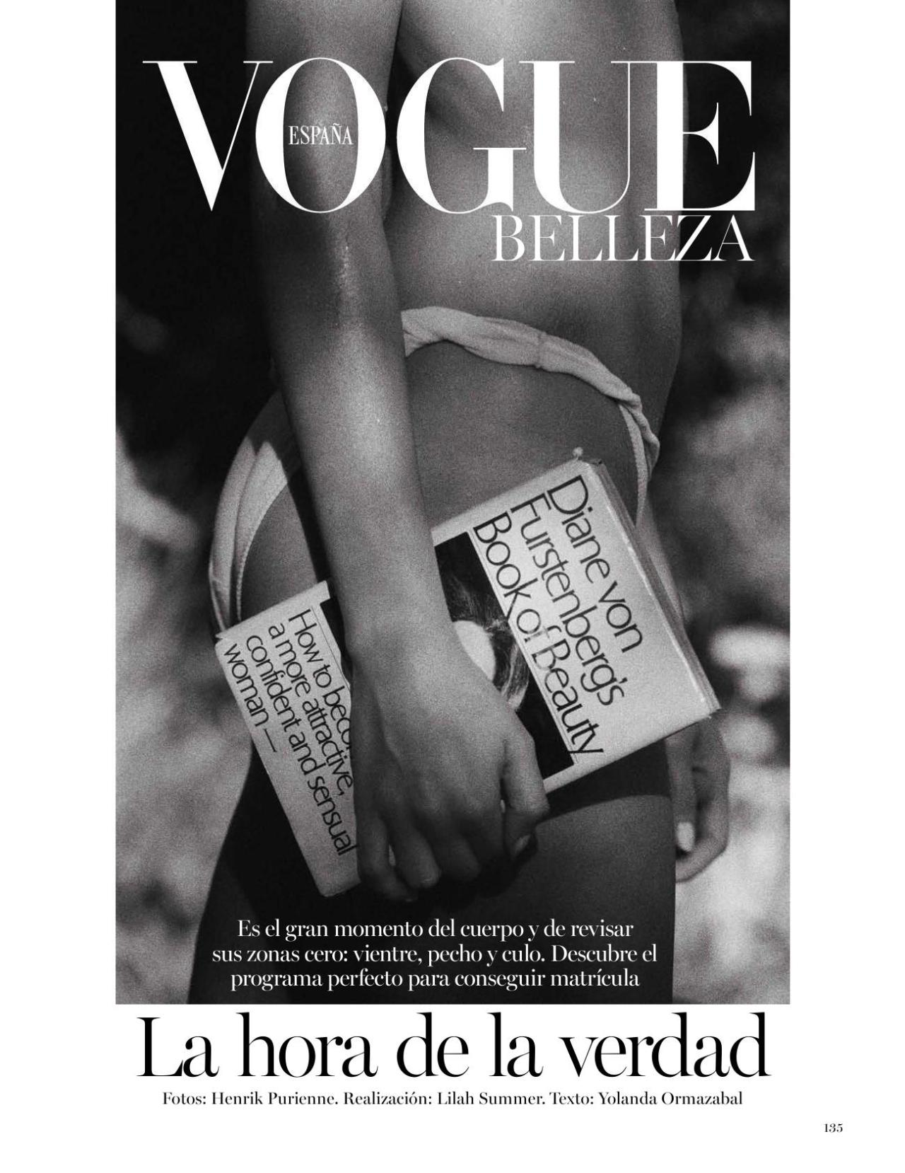 This cover of Vogue Spain