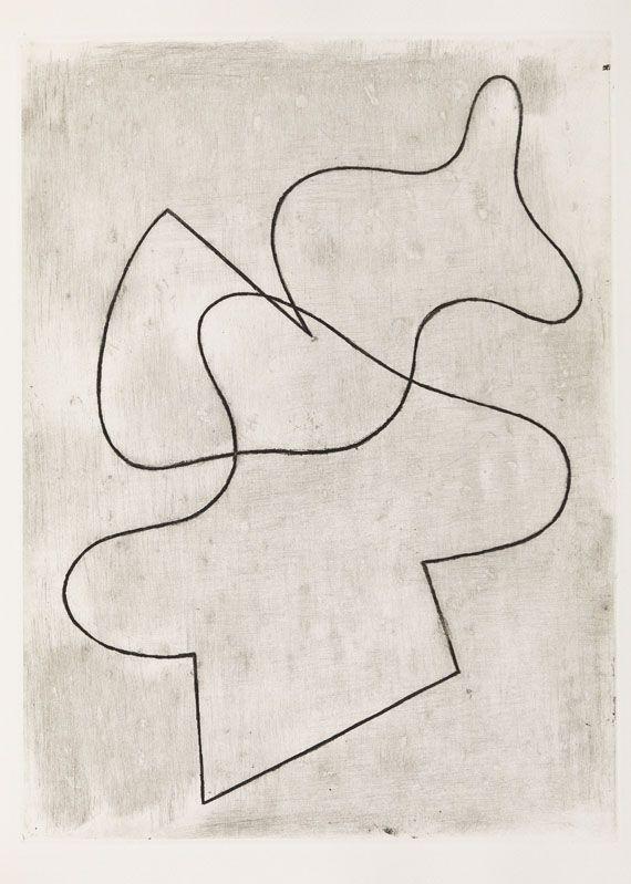 Hans (Jean) Arp - Vers le blanc infini, 1960