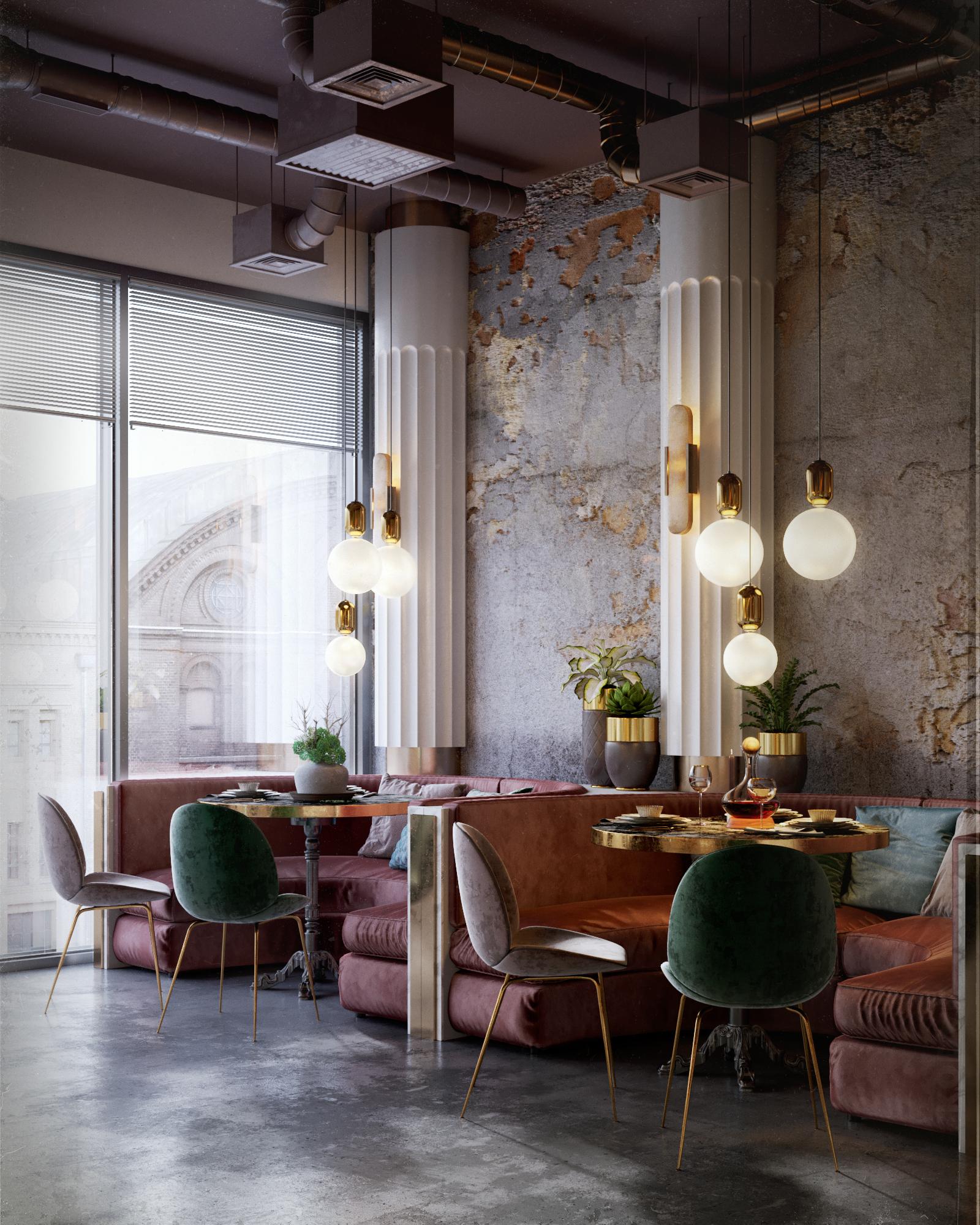 Restaurant Design - by Maxim Tsiabus