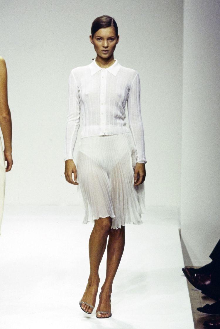 Prada Spring 1995 Ready-to-Wear Fashion Show - Kate Moss