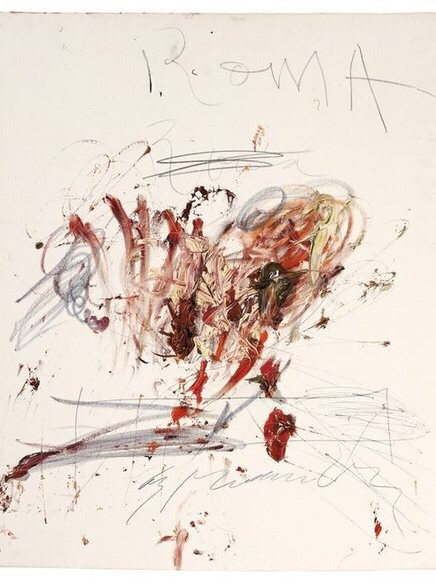 Painting by Cy Twombly