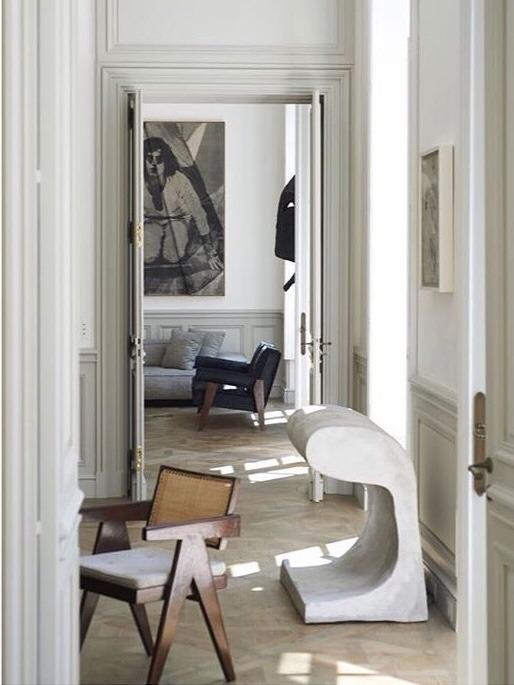 Parisian apartment inspiration by Joseph Dirand