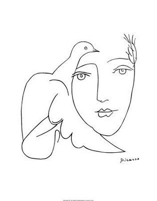 Line Drawings - by Pablo Picasso