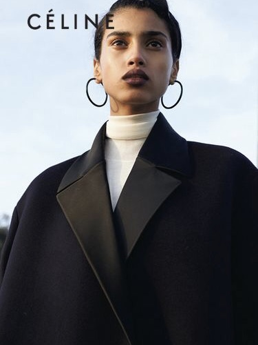 Today's inspiration - Imaan Hammam for Céline