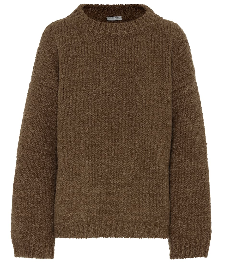 Wool and alpaca sweater