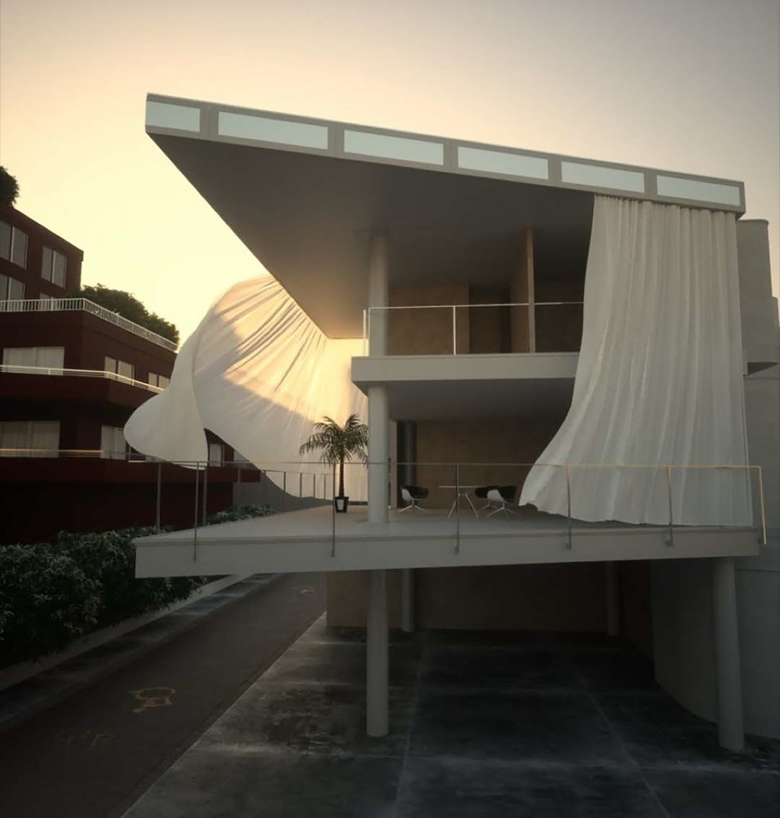 Curtain Wall House by Sigeru Ban - read more about it    here