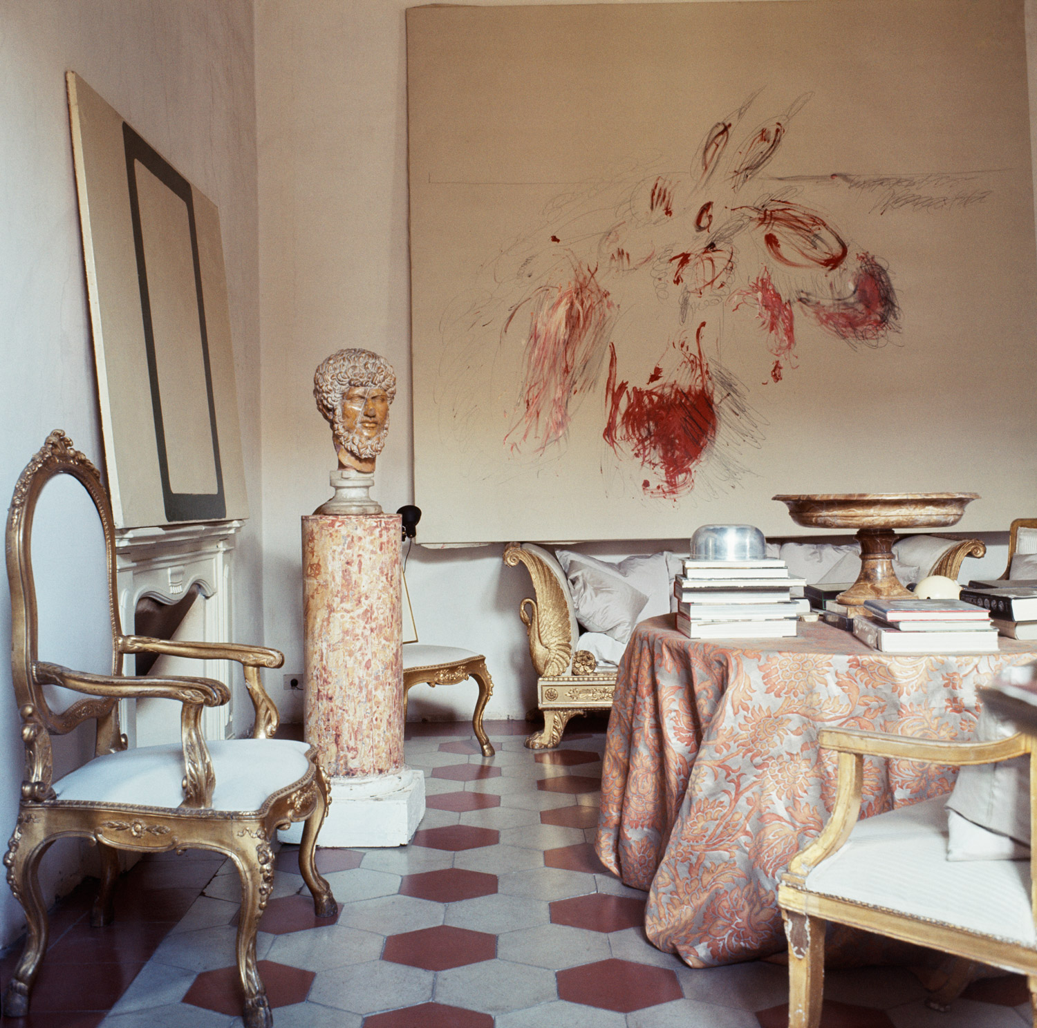 At home with Cy Twombly - Rome, 1966