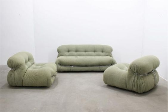 The Soriana Living Room Set by Afra & Tobia Scarpa for Cassina