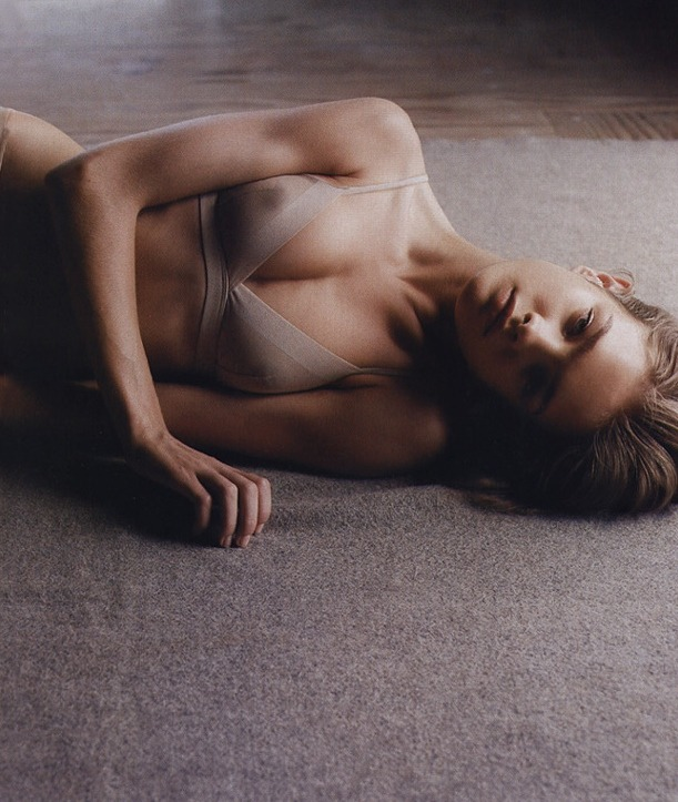 Natalia Vodianova for Calvin Klein Underwear by Mario Sorrenti