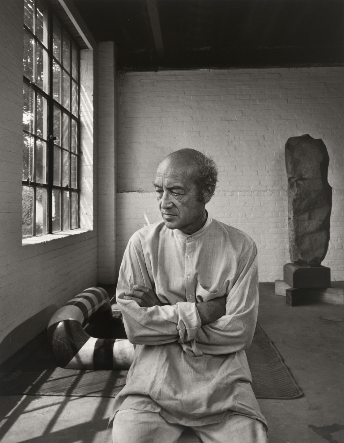 Isamu Noguchi, 1980.
