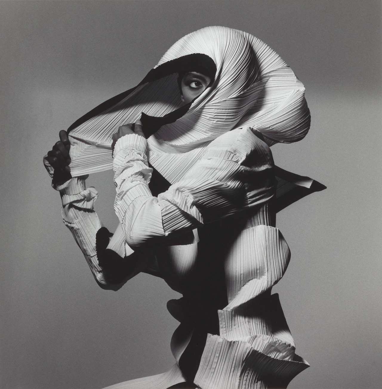 Irving Penn - Issey Miyake, 1990