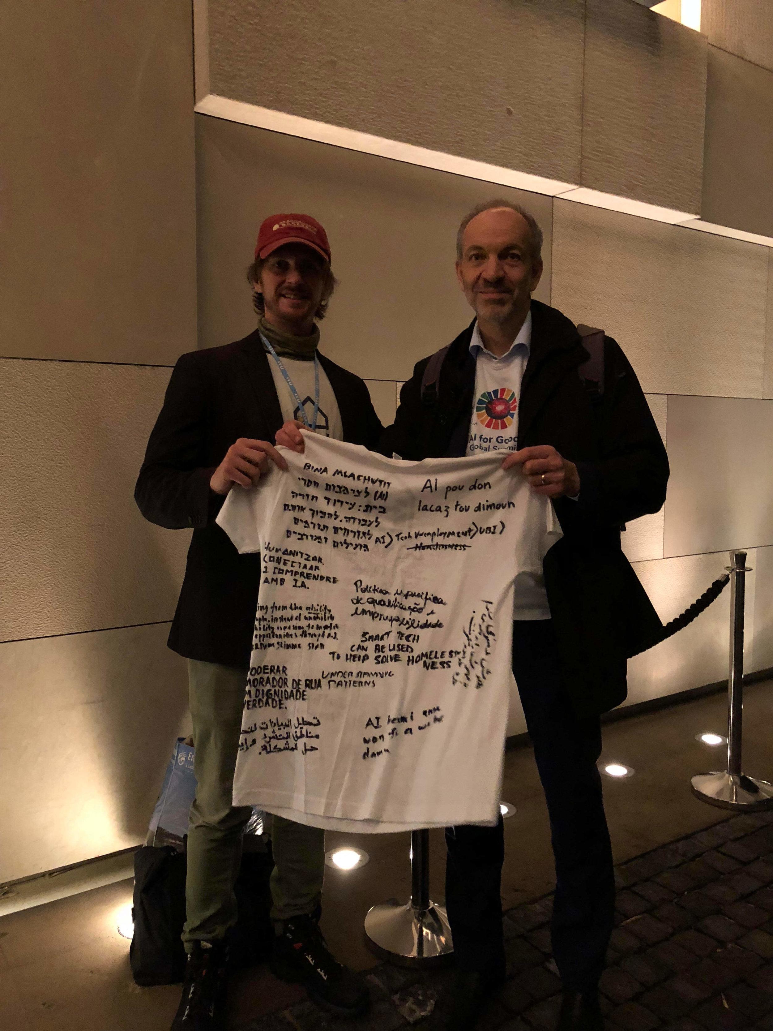 AIforGood_HomelessEntrepreneur_Reinhard Scholl and AndrewFunk
