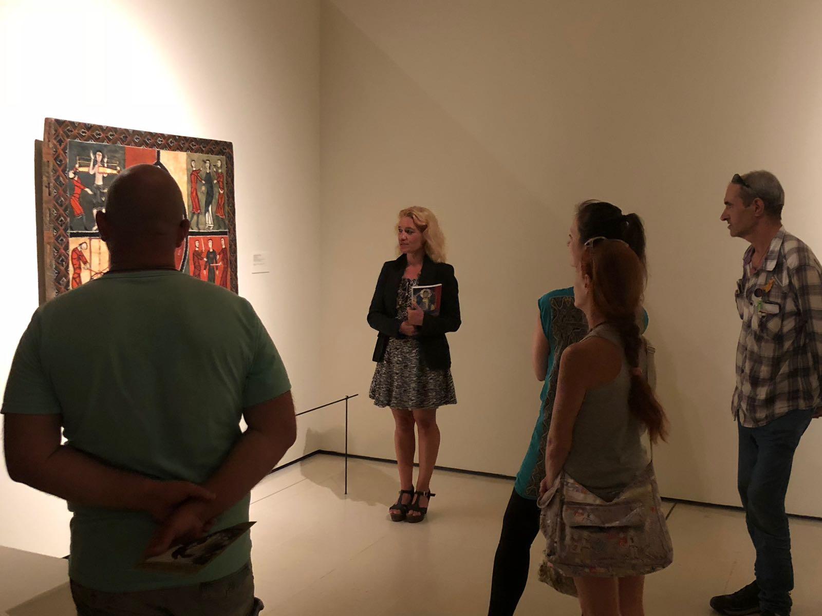 Judith, Homeless Entrepreneur en nuestro programa, dando a conocer el arte y su pasión por ello.