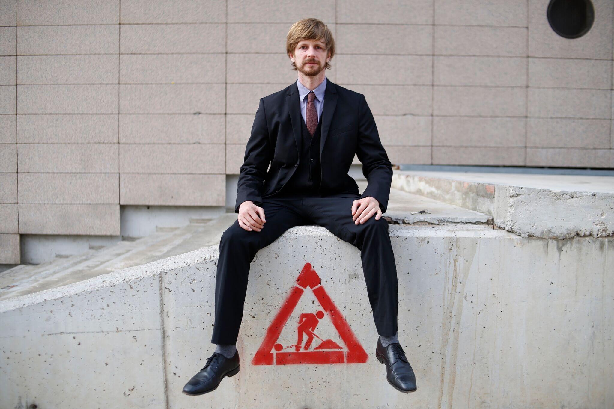 Homeless Entrepreneur Andrew Funk