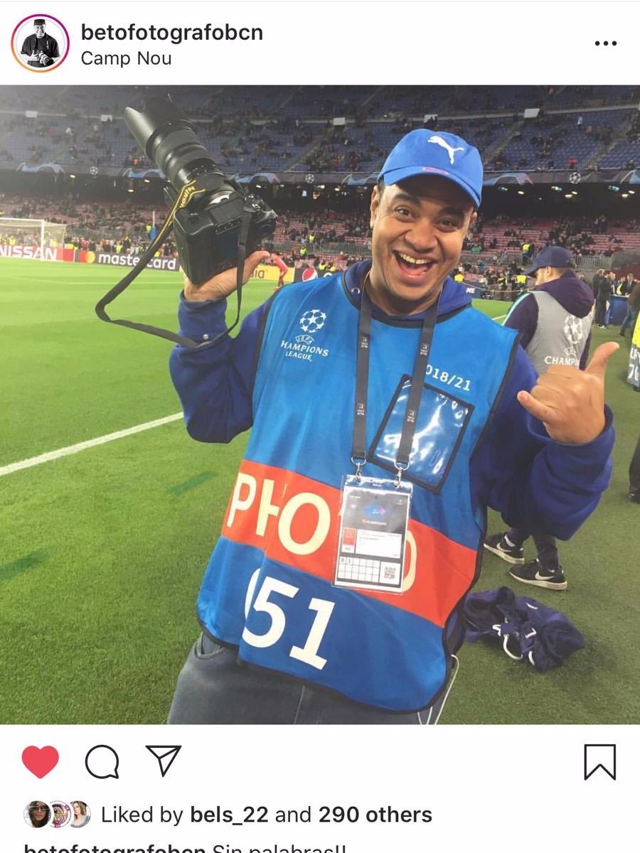 BETO - Adora el fútbol, ya es fotógrafo oficial gracias al programa #HomelessEntrepreneur