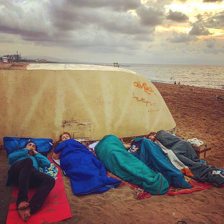 Bon dia Barcelona!  #HomelessEntrepreneur  #TodosDurmiendoEnLaCalle