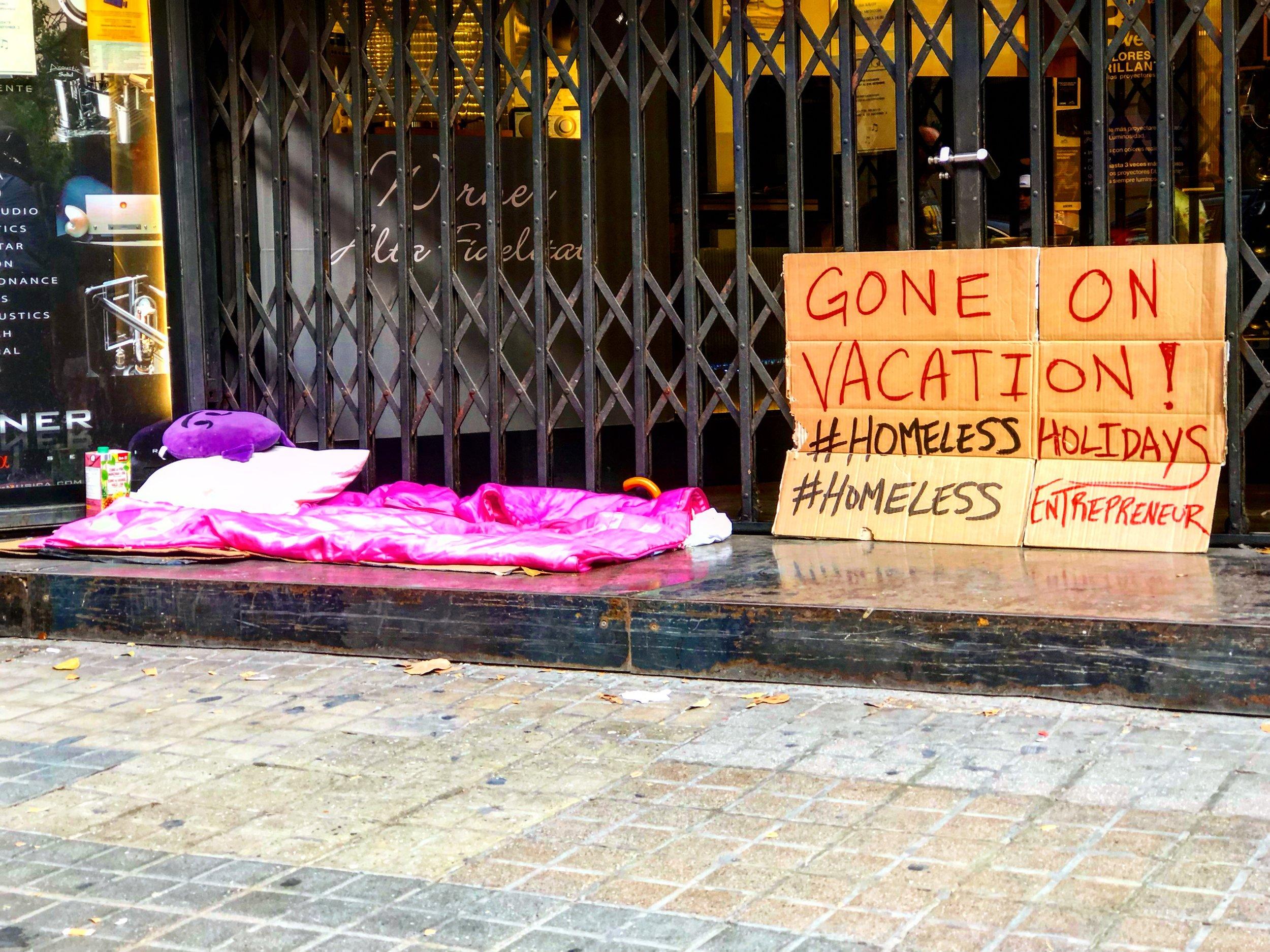 Gone on Vacation! #HomelessHolidays