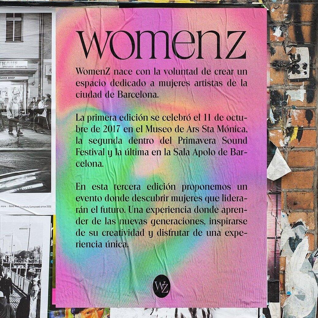 Empieza la cuenta atrás para el  @womenz_fest  ke este año se celebrará el 17 de octubre en la Sala  @abx10 . Un evento donde descubrir a las mujeres más creativas y activistas de las nuevas generaciones. THE FUTURE IS FEMALE