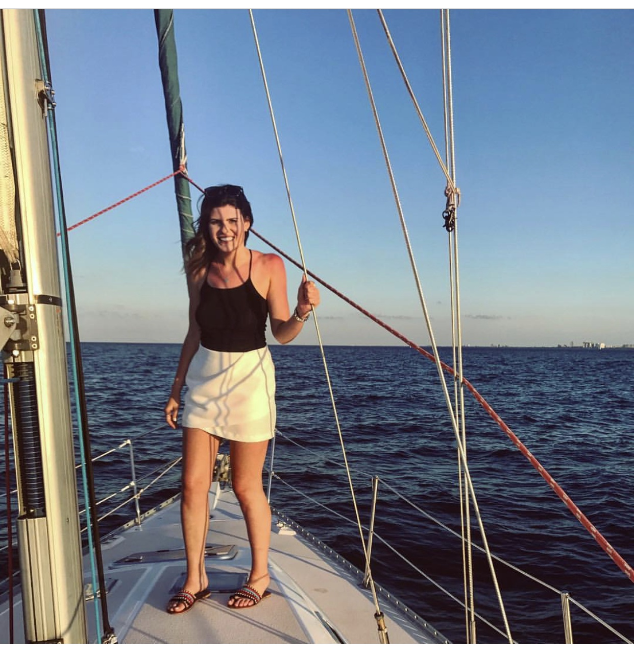 chicago sailing  - one thing i try to do every summer is go sailing ⛵️i do not have a sail boat, nor do i know how to sail, luckily chicago sailing exists! you can charter one with a qualified captain, they also do rentals if you know how to take to sea, and they give lessons! may be signing up for those next! check out chicago sailing!  -xoxojackie