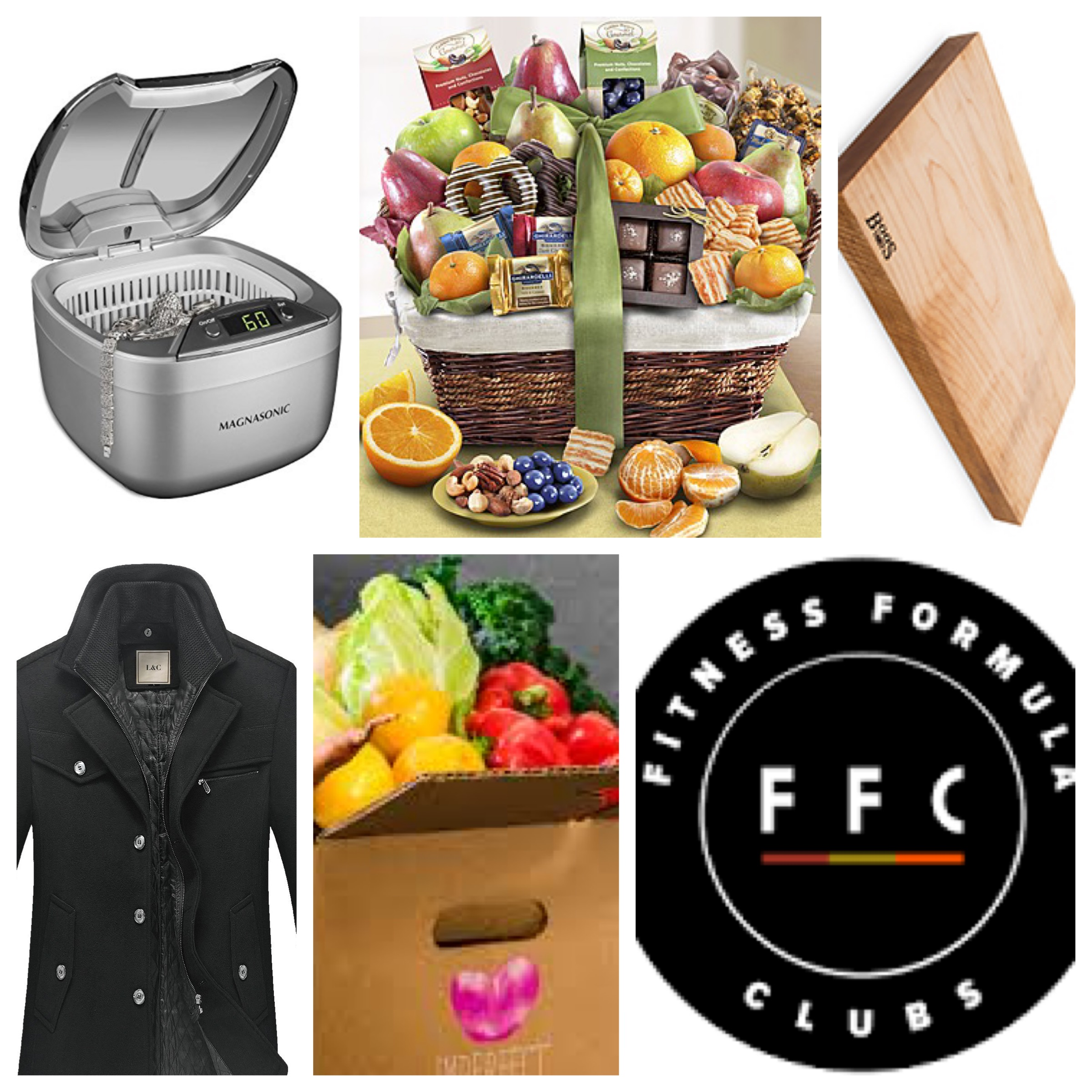 """valentines day gift guide - for her:the magasonic jewelry cleaner for the jewelry lover who already has enough jewelry (but can you really ever have enough ?)for him & her: 1-800 baskets use code """"JACKIE20"""" for 20% off site wide!for those who love to cook: boos cutting boardfor him: leather & cotton quilted short trench coatfor the chicago folk -those that need a nicer gym membership :FFC GYM MEMBERSHIP for a free month of fitnessuse my name """" Jackie Saland"""" as your referring member.for those that eat their veggies:imperfect produce organic fruits and veggies delivered every weekuse code """"JACKIE50"""" which offers 50% off of the first box"""