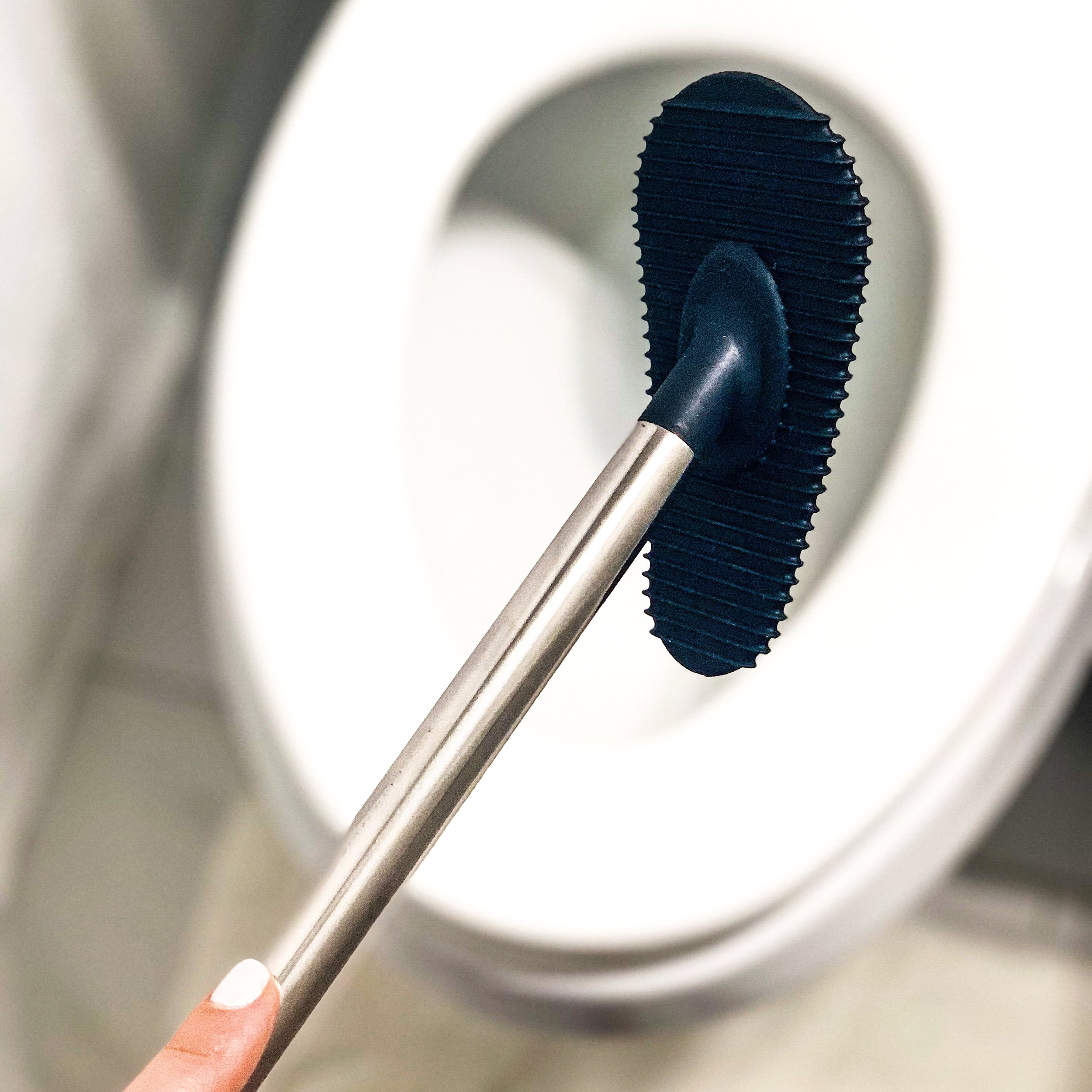 A Better Clean - The better living hygienic toilet squequee saves you time and effort with 30 micro squeegee blades & a non stick flexible silicone pad. SHOP HERE