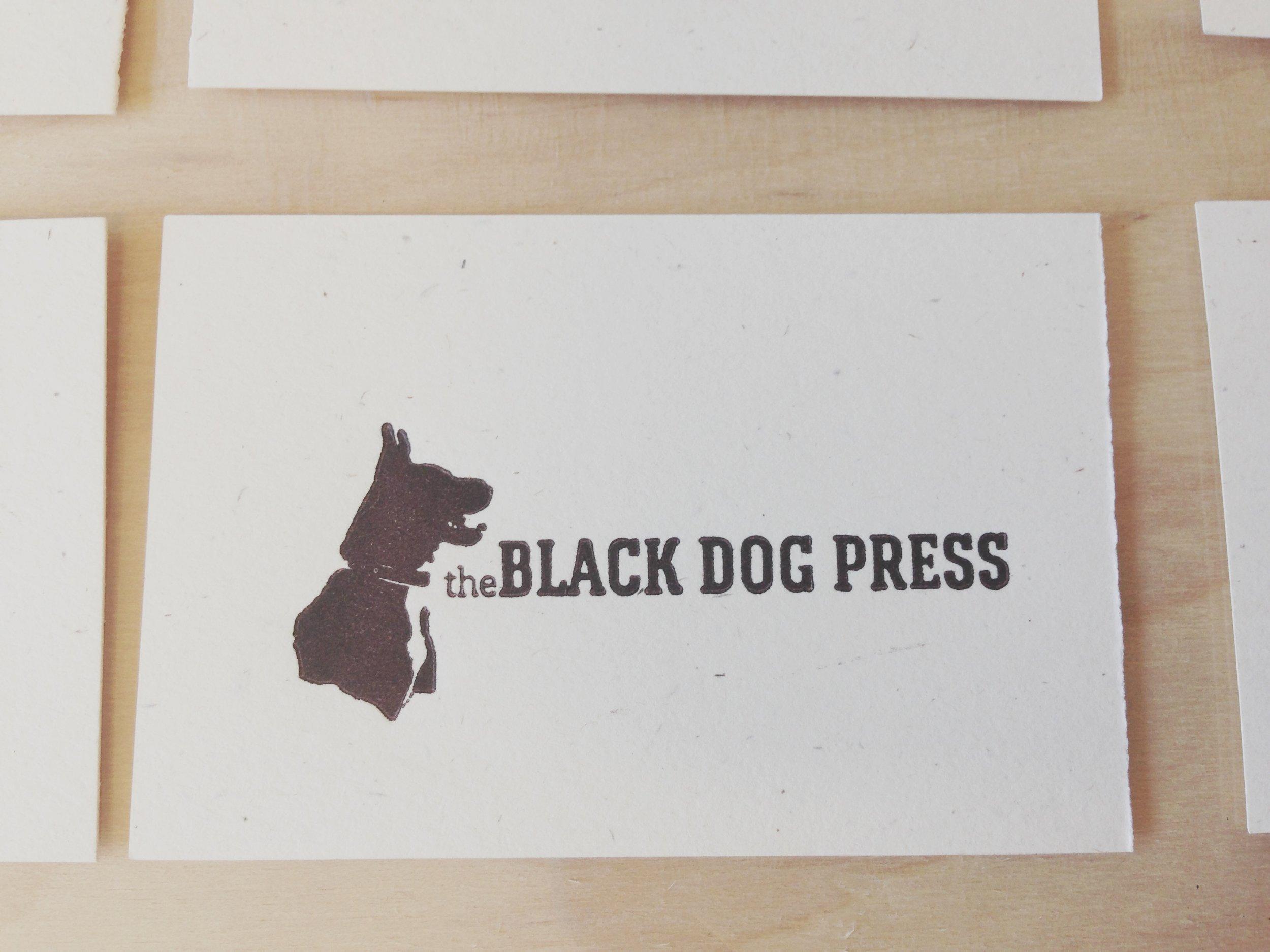 welcome         tothe black dog press -