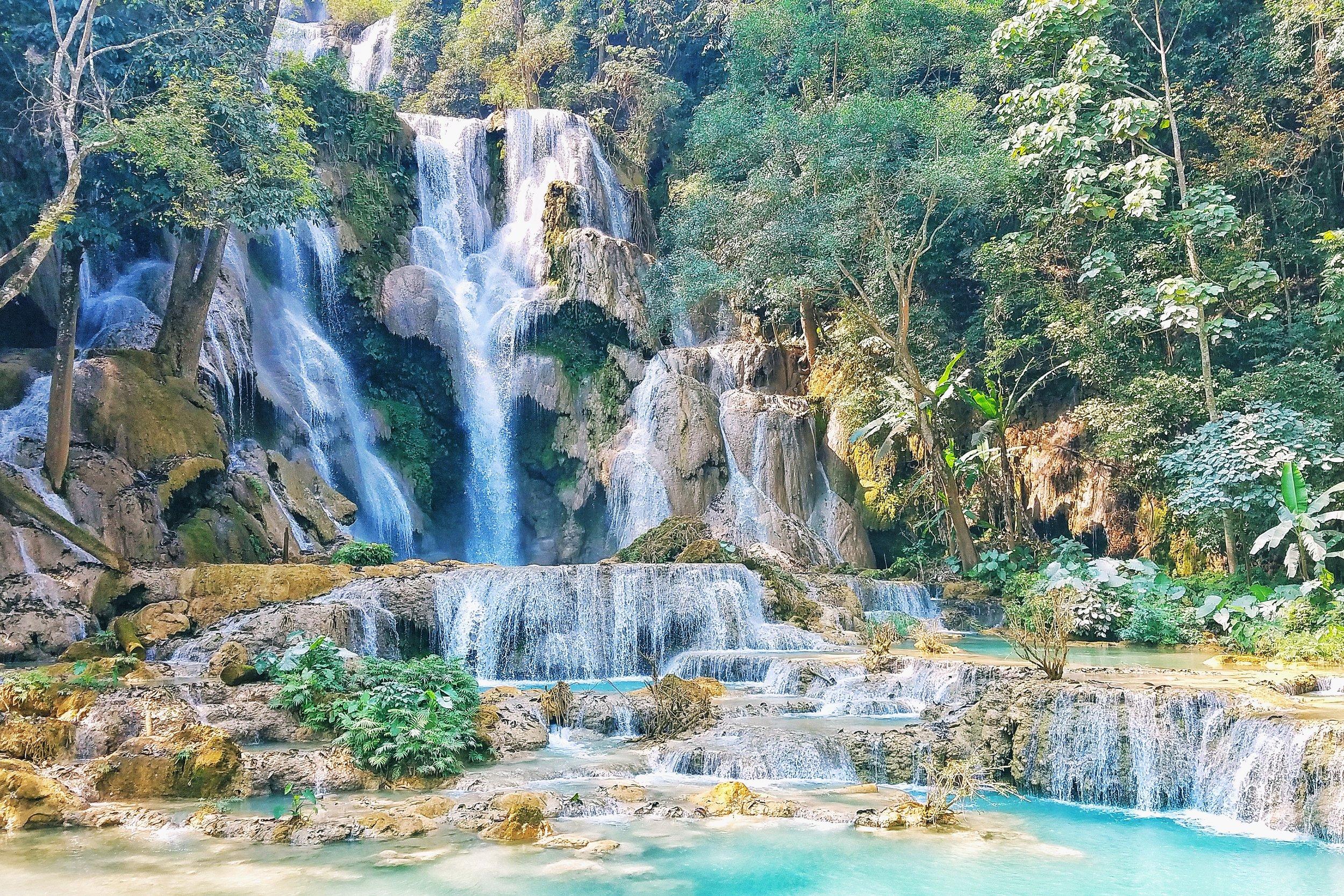 Ki Suang Falls, Laos