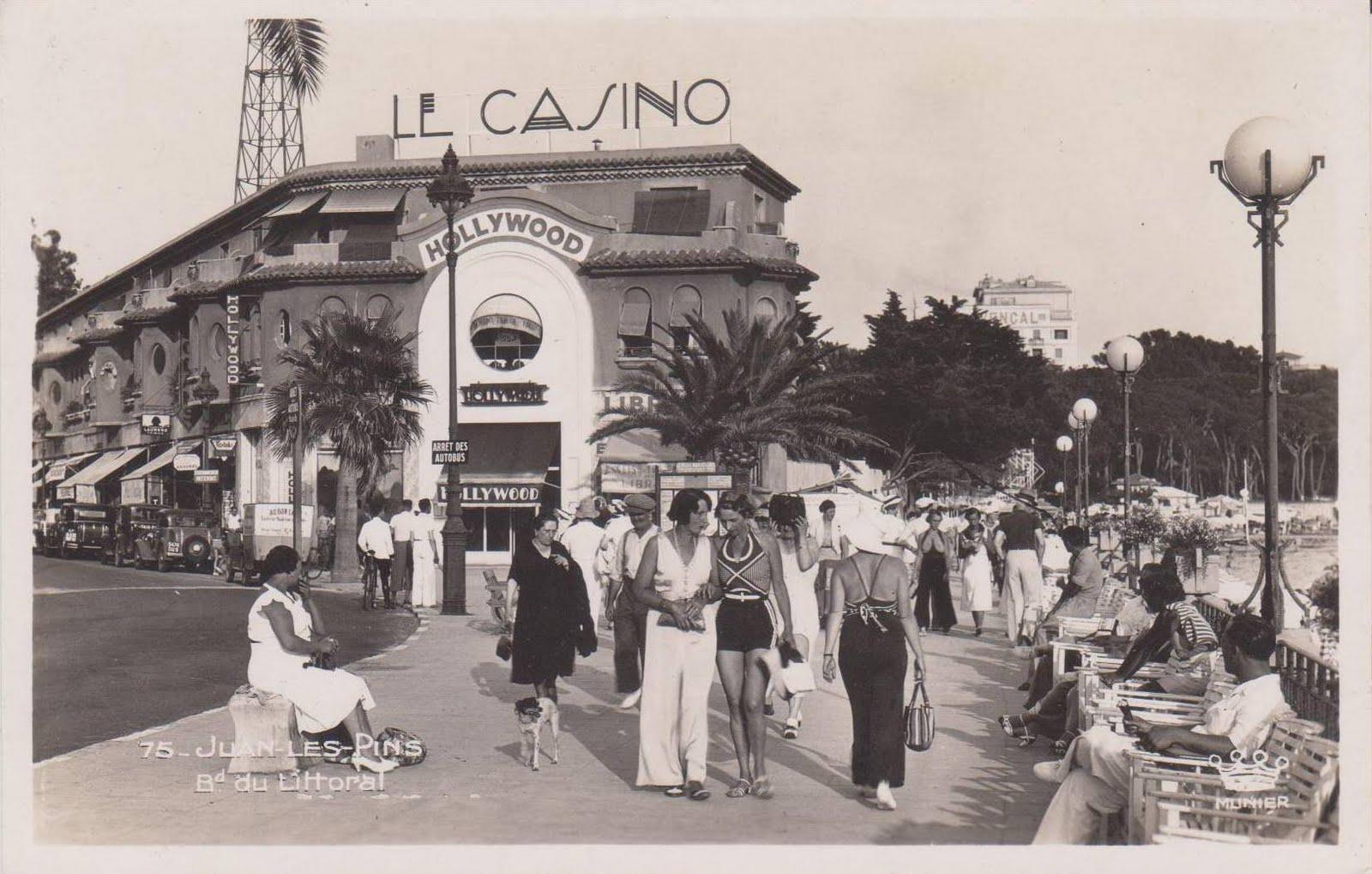 Juan-les-Pins in 1930s