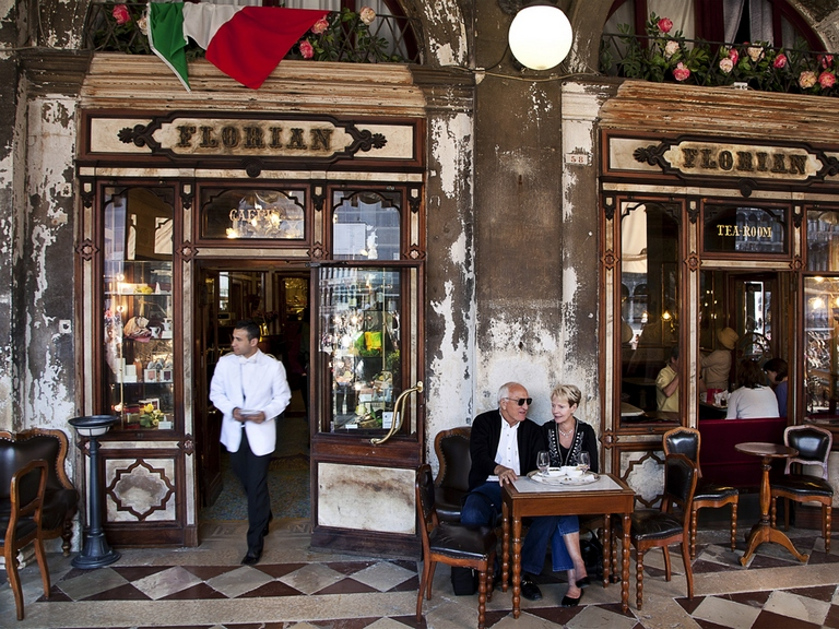 Florian Cafe Venice's oldest cafe