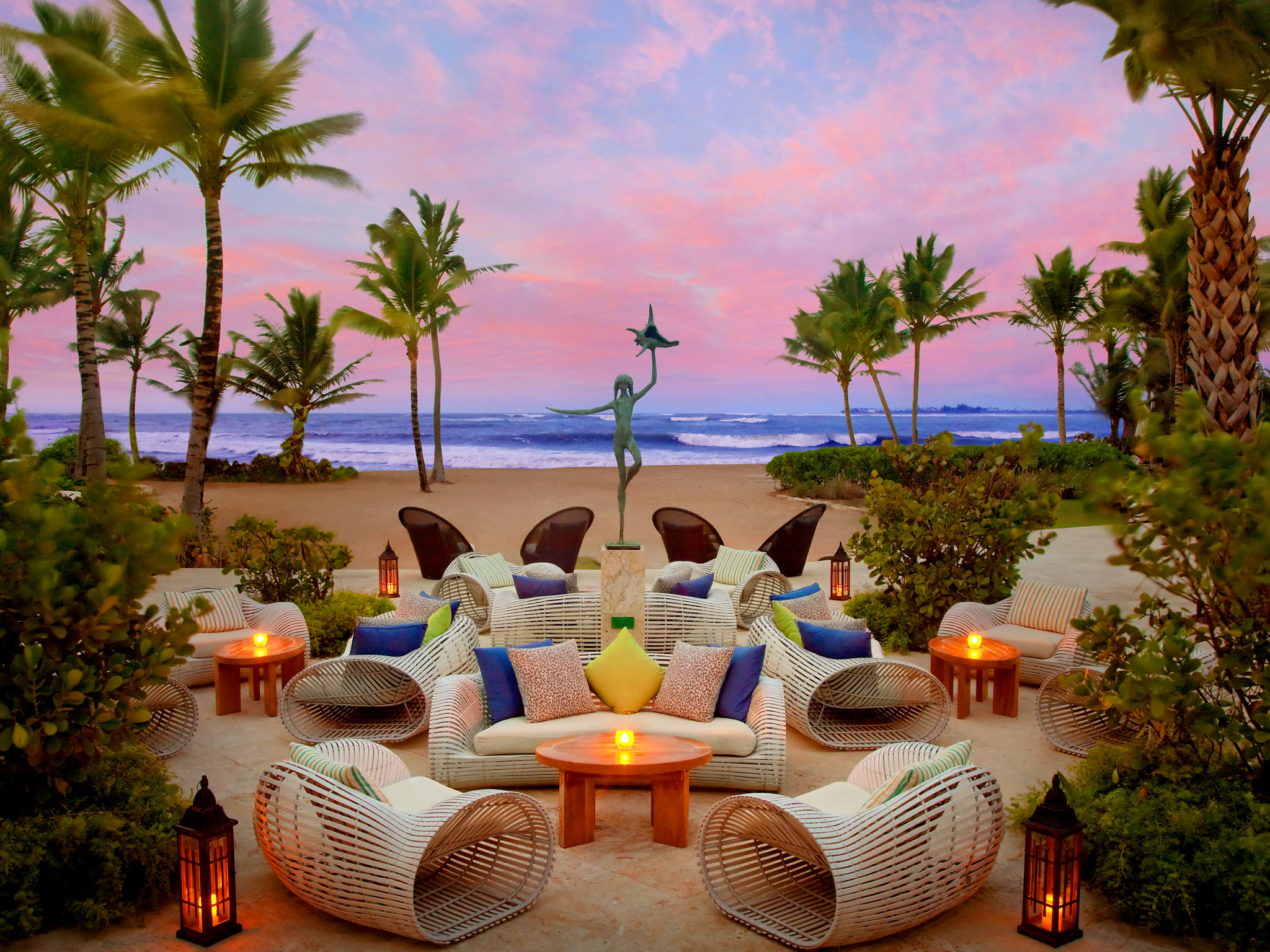 The St Regis Bahia Beach Resort, Puerto Rico - Reopens October 29, 2018This is the top of the luxury and sophistication at The St. Regis Bahia Beach Resort, Puerto Rico, the first AAA Five Diamond resort in Puerto Rico. Embrace the romantic setting of a Caribbean coconut plantation nestled between a lush national forest and the sparkling sea at one of the most luxurious Puerto Rico resorts. Experience refined exclusiveness and iconic Butler service for all guestsDistance to the airport 40 minutes