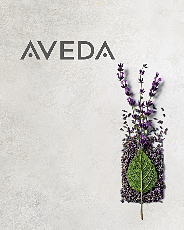 aveda hair & skin care products