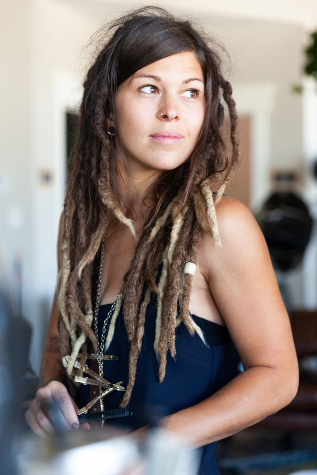 Dreadlocks - New Dreadlocks: $75/hrDreadlocks Maintenance: $45/hr Touching up can take between 3-4 hours on a full head of locks. We recommend maintenance every 2-3 months for new dreads until they are more matured.Dreadlocks Extensions: Price bases upon consultationDeep Cleanse: From $60 This is usually recommend at least twice a year to get your locks good and clean and remove whatever your regular shampoo may by leaving behind!