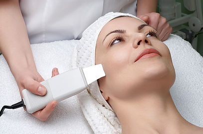 Dermasound Facial - The Dermasound machine is a clean, environmentally-safe device that uses cutting-edge technology and low-frequency sound waves in a 3-stage system (cavitation, sonopheresis, & micro current) to combat a variety of skin conditions. Safe for any skin condition, type and color. We push your treatment to the next level by using cruelty-free, pharmaceutical grade products that penetrate deeper making your skin look and feel its best! All of our Dermasound facials come with a lip plumping treatment to make your lips look extra smoochy! Pregnancy and heart conditions are contraindicated.60min starting at $75