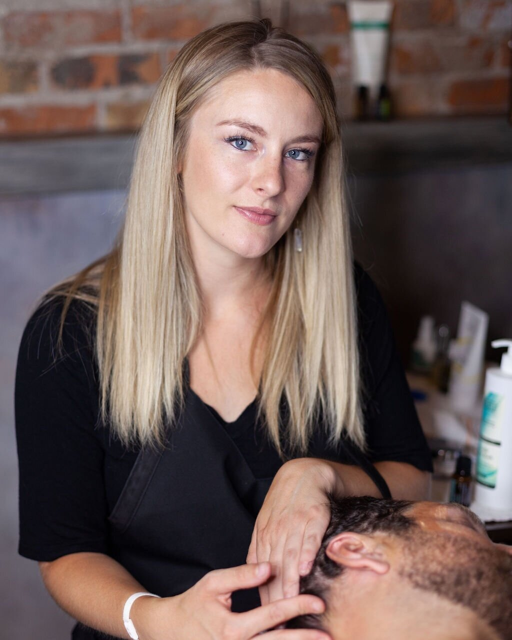 Shelbie Mortensen - Owner/Master Esthetician, Sugaring Practitioner, & Lash ArtistShelbie, a local to Utah, moved to Ogden in 2012 and instantly fell in love with the unique city. She recently graduated from her Master Esthetics Program at the five star rated Avalon School of Cosmetology. With Shelbie's completion brings fresh learning experience and insight to the ever-changing field of skincare. She stays grounded by staying connected to the outdoors enjoying the beautiful terrain Utah has to offer while hiking, fly fishing and skiing. Shelbie's strong will, work ethic, passion and eagerness to learn and progress is what brings a fresh, modernistic approach to the overall team.