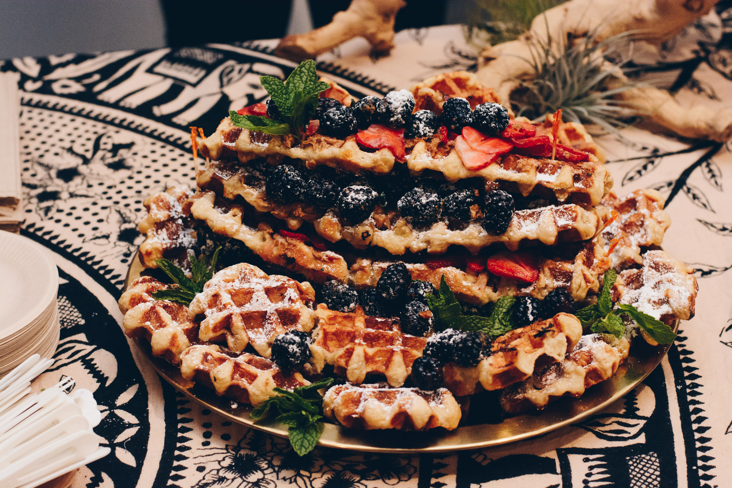 Waffle Cake by  WowWowWaffle . Photo by Rachel of  Eye of Nirvana .