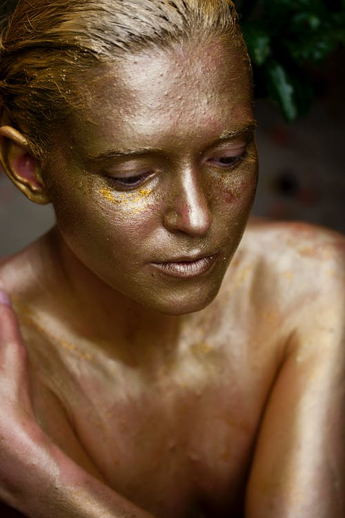 This is Personal - Gold Body Painted Woman.jpeg