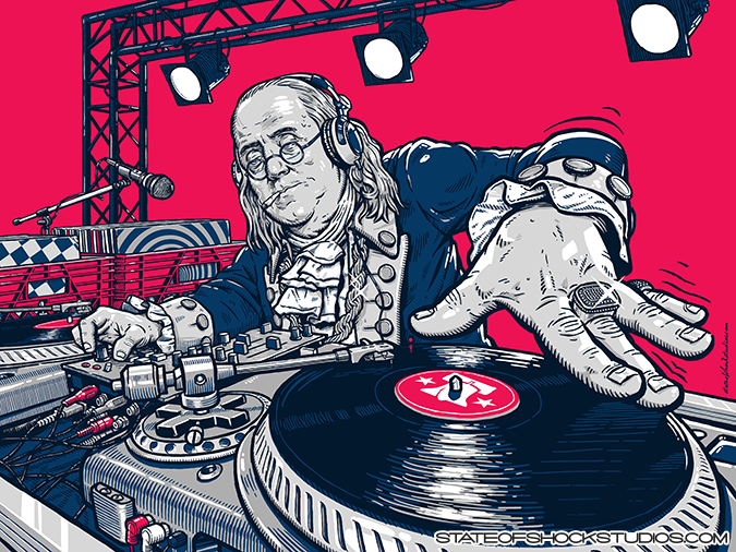 DJ Benny Ben Franklin: 2017...AVAILABLE IN THE STORE