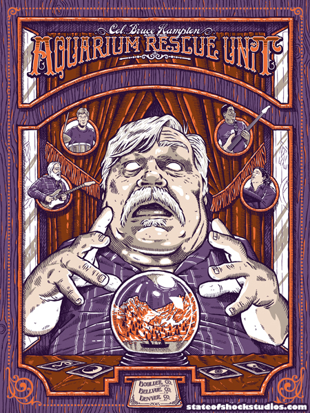 Bruce Hampton & the Aquarium Rescue Unit: Denver 2015...AVAILABLE IN THE STORE