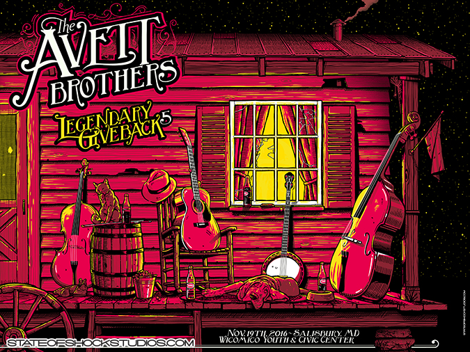 The Avett Brothers: Salisbury/LG5 2016...AVAILABLE IN THE STORE