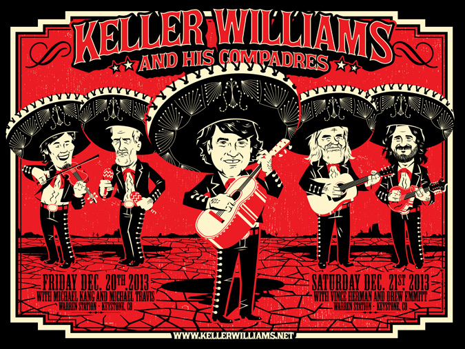 Keller Williams & His Compadres: Keystone 2013...AVAILABLE IN THE STORE