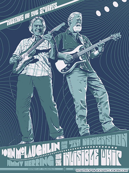 John McLaughlin & Jimmy Herring: Philadelphia/Newark 2017...AVAILABLE IN THE STORE