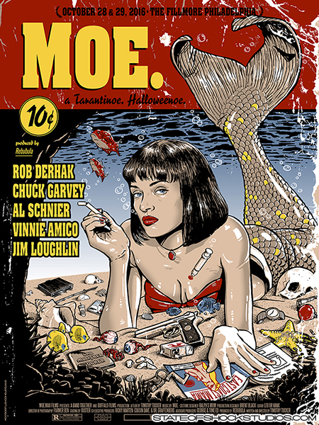 Moe.: Halloween 2016...AVAILABLE IN THE STORE