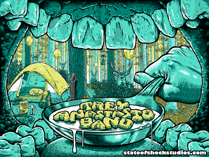 Trey Anastasio Band: Portland 2015...SOLD OUT