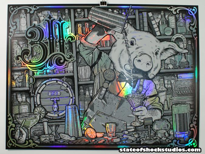 311: Cincinnati 2015 Rainbow Foil