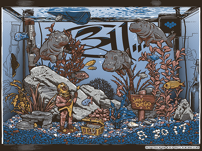 311: San Diego 2017 Regular Edition