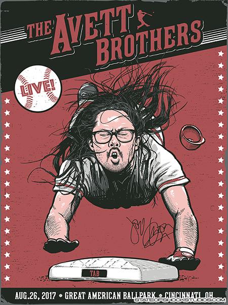 The Avett Brothers: Cincinnati 2017 Regular Edition