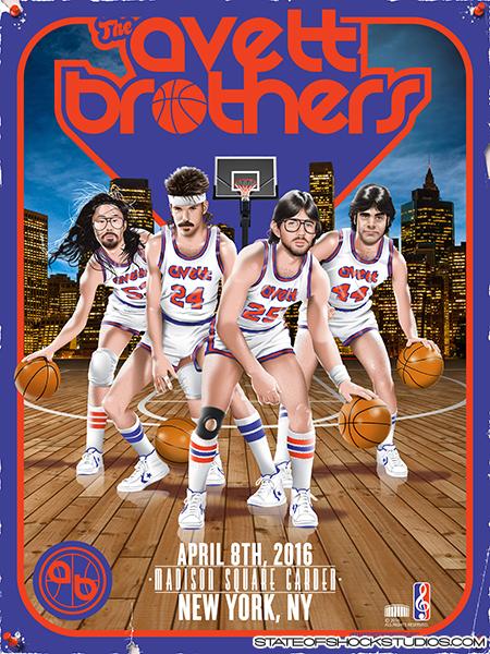 The Avett Brothers: New York 2016 Regular Edition