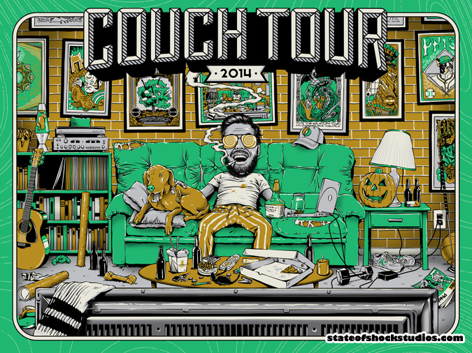 Couch Tour 2014 Fall Green Variant