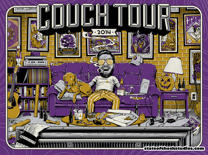 Couch Tour 2014 Fall Purple Variant